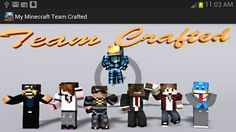 Team crafted minecraft