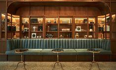 Restaurant and Bars Lounge Design, Bar Lounge, Retro Lounge, Hotel Lounge, Bar Interior Design, Restaurant Interior Design, Cafe Interior, Cafe Design, Resort Interior