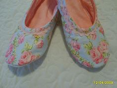 ~ Shabby Raggy Roses ~: TUTORIAL ~ Make your own Ballet Slippers & A Giveaway!