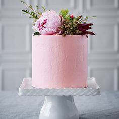 Pink Cake and Pink Peony @sweetmilton Peony and a few n...Instagram photo | Websta (Webstagram)