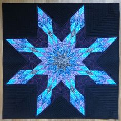 Lone star variation quilt by Melissa Marginet
