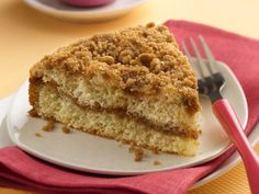 Double-Streusel Coffee Cake. This can be made gluten free by substituting GF Bisquick and adding 2 tbs of shortening per cup of GF Bisquick.
