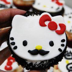 Hello Kitty Mr. Moostache!