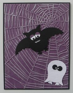 Halloween Critters using Stampin Up Owl Punch