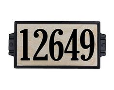 Sandy Stone Address Plaque 5 - for beginners sale Craftsman House Numbers, Tile House Numbers, Fusion Pro Grout, Target, Image Icon, Online Coupons, Address Plaque, Funny Sweatshirts, Coupon Organization