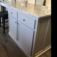 Item Kitchen Island with seating, Table Island Custom, Kitchen Island Kitchen Island Table, Kitchen Island With Seating, Island Bar, Kitchen Cabinets, Pull Out Spice Rack, Pull Out Shelves, Open Shelves, Farmhouse Style Kitchen, Diy Kitchen