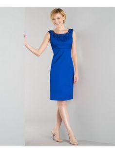 Plus Size Blue Stone Shimmering Dress inspired by #EvaLongoria. Shop #DMLooks at DivaMall.tv