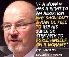 Asshole of the day from Maine equates a woman's right to get an abortion with a man's right to rape a woman. And patriarchy rears it's disgusting, misogynist head again. Can we PLEASE vote out these people! Are You Serious, Out Of Touch, Pro Choice, Stupid People, Crazy Stupid, Atheism, Social Issues, My Guy, Fight Club