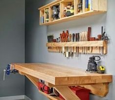 Cool woodworking area!