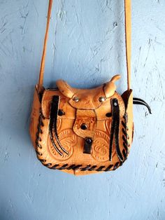 Backpack   Leather Kilim Cloth Bag   Vintage Ecuador Rucksack   Purple Day  Pack. Etsy. Vintage Saddle Purse Southwestern ... 1141c2795eb6a