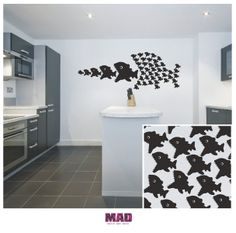 WALL STICKERS Poissons gourmands sur DaWanda.com