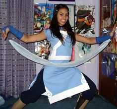 Halloween Costume: Katara from Avatar: The Last Airbender on Nickelodeon