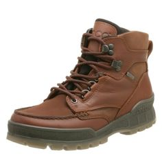ECCO Men's Track II Mid Gore-Tex Boot ECCO. $180.00. Anatomically contoured footbed provides all-day comfort and support. leather. 100% waterproof and breathable GORE-TEX lining. Manmade sole. Removable Comfort Fibre System insole absorbs moisture, minimizes odor, and resists bacteria