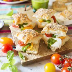 Brunch – bästa recepten Scones, Tapas, Brunch, Appetizers, Vegetarian, Student, Snacks, Chicken, Ethnic Recipes