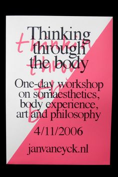 THEARTISTANDHISMODEL » Thinking Through The Body