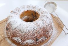 Blåbärssockerkaka - Ägg & mjölkfri - Jennys Matblogg
