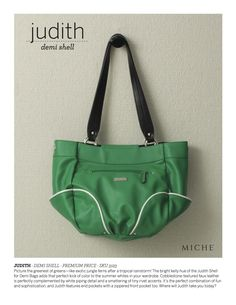 """Demi Miche Shell """"Judith"""" is Happy & Bright and ready to hit the golf course!"""