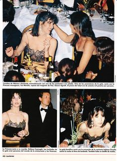 Princess Caroline of Monaco at a gala in St. Moritz.-Lecturas- March 31,1990. page2