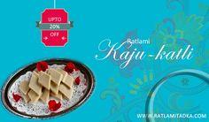FREE HOME DELIVERY ALL INDIA SPECIAL OFFER FOR YOU Upto 20% off Special Ratlami | KAJU - KATLI | @ ▶ Fast shop now> http://www.ratlamitadka.com