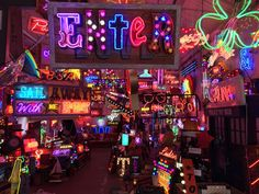 Prepare to be amazed as you step into the bright lights and sights of neon wonderland,  God's Own Junkyard in London!