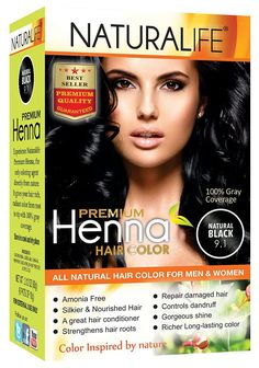 Naturalife Premium Natural Black Henna Powder *** Click on the image for additional details.