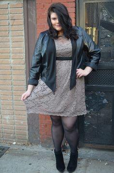 Lane Bryant Jacket w Macys Dress