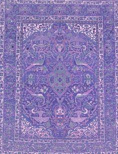 Purple carpet, magnetizing pattern