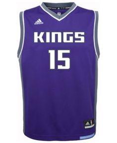 8dabffe2c ... adidas demarcus cousins sacramento kings revolution 30 jersey big boys  (8 20) men sports
