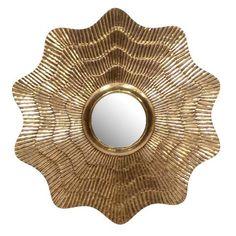 Sydney Mod Aubrey Clad Mirror designed by Florence Broadhurst