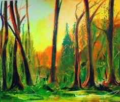 Wald bei Tageslicht