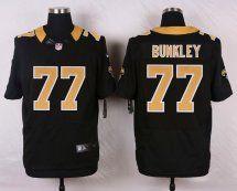 New Orleans Saints #77 Brodrick Bunkley Elite Black Men Jer