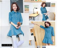 Get ultra casual with our pleated denim dress from OB Design.  Buy this for only P 740: http://marketplace.zalora.com.ph/usoplus/