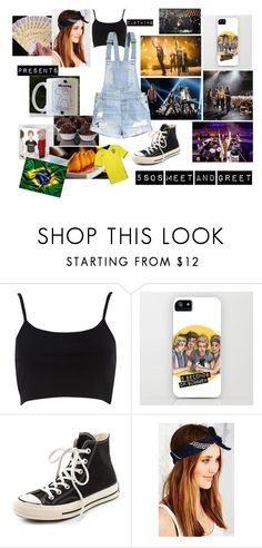 """#33 5sos Meet and Greet"" by gabi-espinosa1997 on Polyvore featuring moda, River Island, Converse, Urban Renewal e H&M"