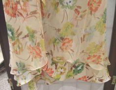Ice Clothing 100% Silk  Floral  Multicolor  Dress, Asymmetrical  Hem, Size  8 #IceClothing #AsymmetricalHem