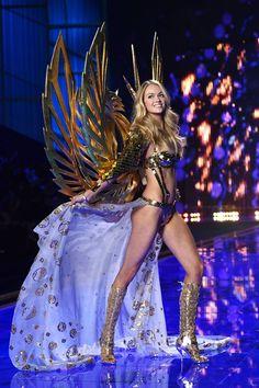 The Iconic Wings: Victoria's Secret Fashion Show 2014 - Photos From Victoria's Secret Fashion Show 2014 - Harper's BAZAAR