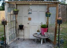 Old door Patio nook