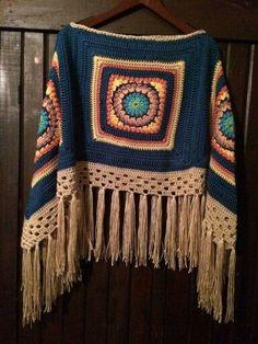 Crochet ideas that you'll love Crochet Cardigan, Crochet Scarves, Crochet Shawl, Crochet Clothes, Crochet Stitches, Crochet Baby, Knit Crochet, Boho Crochet Patterns, Crochet Designs