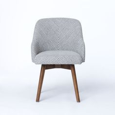 saddle office chair westelm a nod to mid century design our