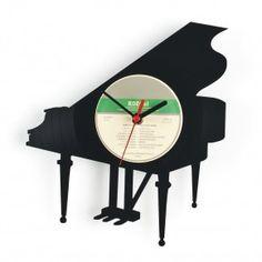 wall clock piano
