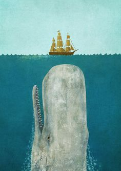 The Whale  by Terry Fan  This pic makes my insides go all squiggly.