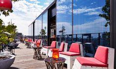 Dachboden Rooftop Bar, 25hours Hotel Wien
