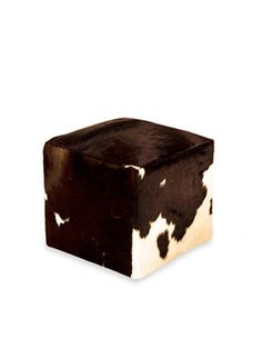 Cow hide box