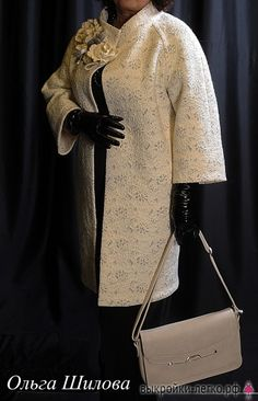 Выкройка легкого пальто-кокона (р-р 40-60)   Шить просто — Выкройки-Легко.рф