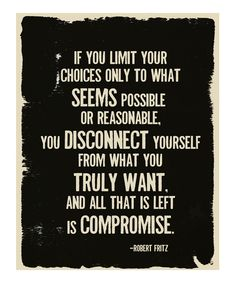 'Compromise' Print
