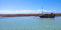 Natural swimming pool with bar and table floating - Morro de SP/Brasil
