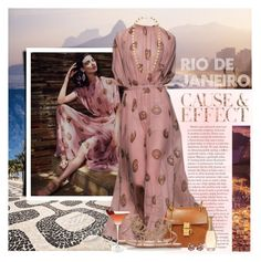 """Rio De Janeiro Nights"" by lilith1521 ❤ liked on Polyvore featuring Envi, Chloé, Gianvito Rossi, Christian Dior and Kenneth Jay Lane"