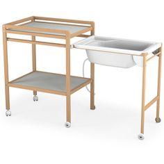 Table à langer + baignoire
