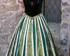 Anna Kleid für Puppe 18 eingefroren von PumpkinCoachBoutique