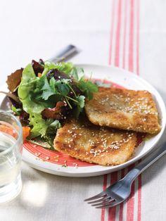 Fromage pané pour raclette