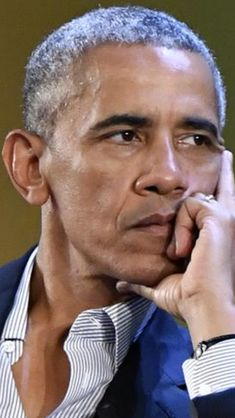 #44thPresident #BarackObama The look of a man who cares
